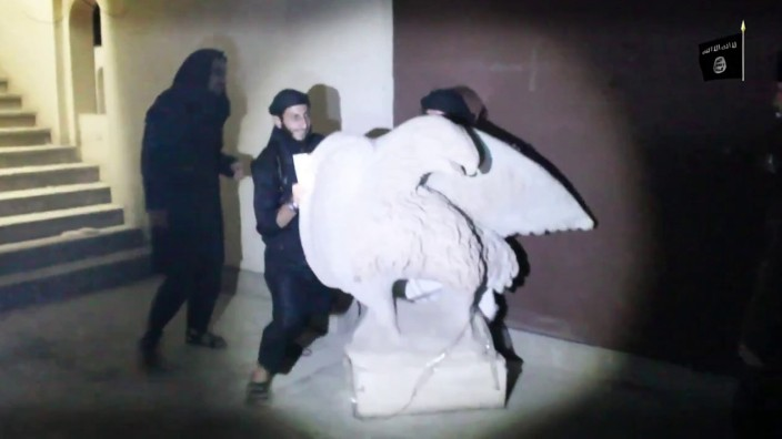IS zerstört einzigartige Kulturgüter aus assyrischer Zeit