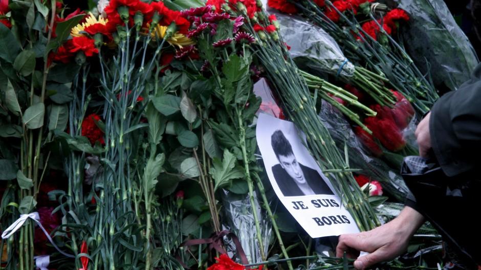 Demokratie in Russland Reaktionen auf Nemzow-Mord