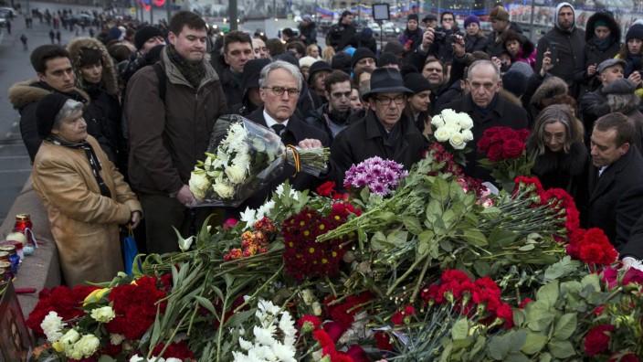 Trauer um Boris Nemzow