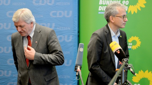 Greens And CDU Seek Historic Coalition In Hesse