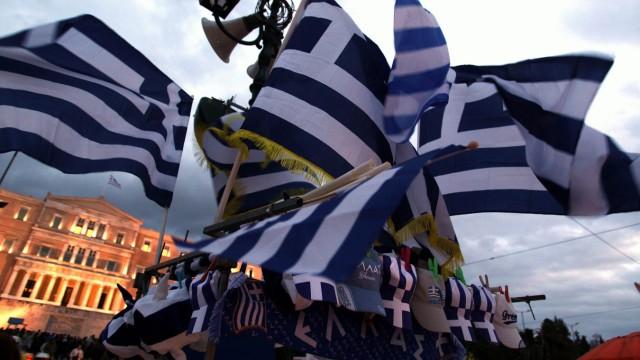 Kundgebung in Athen