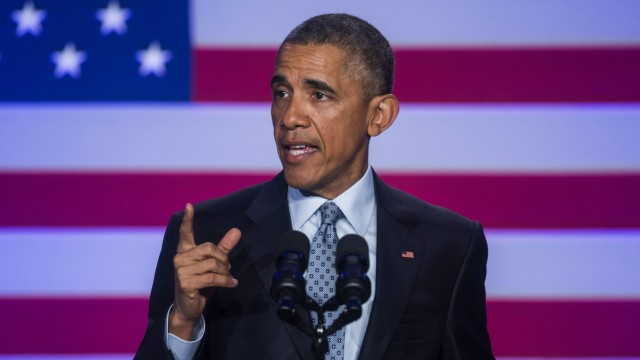 Obama Speaks at DNC Winter Meeting