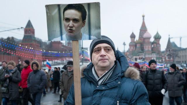 Krieg in der Ukraine Inhaftierte Pilotin in Russland