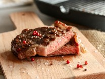 Kochnische zu Steak