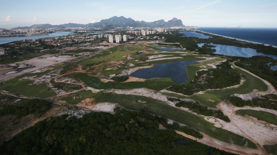 Rio 2016 Olympic Games Venues Construction in Progress