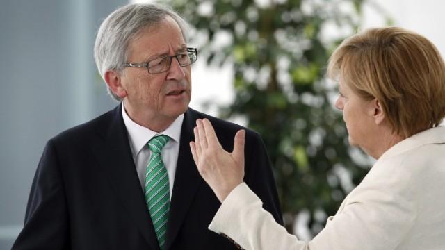 EU-Kommission Juncker und Merkel