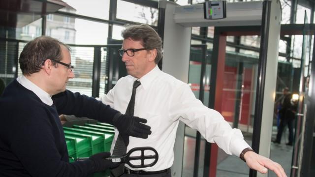 Prozess gegen den früheren CSU-Landtagsfraktionschef