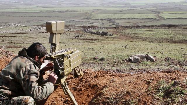 Syrian army makes gains around Daraa
