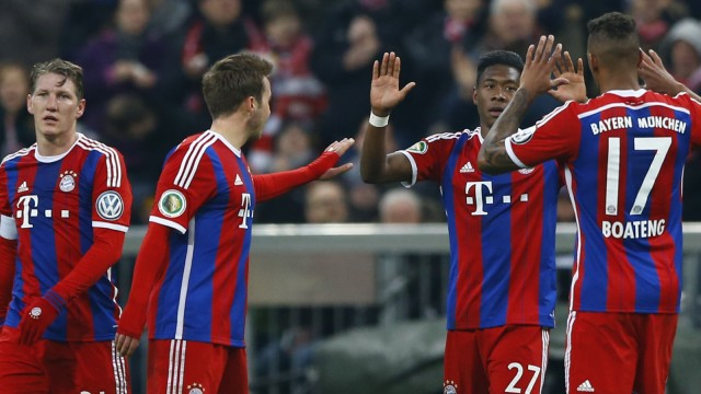 DFB-Pokal Pokal-Erfolg des FC Bayern