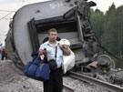 Zugunglück in Nordrussland (Bild)
