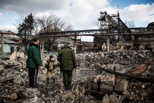 Fragile Cease Fire Holds In Gorlovka, Ukraine