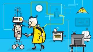 Roboter Technik und Menschlichkeit