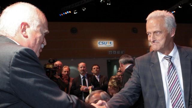 CSU-Parteitag - Gauweiler, Ramsauer