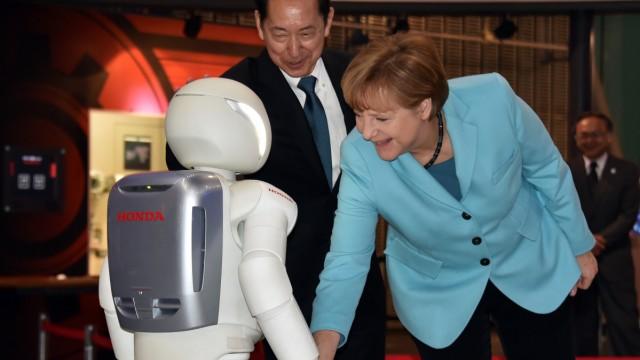 Bundeskanzlerin Merkel Besuch in Japan