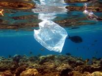 Plastikmüll in den Meeren