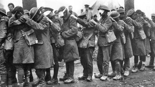 Erster Weltkrieg Giftgas im Ersten Weltkrieg
