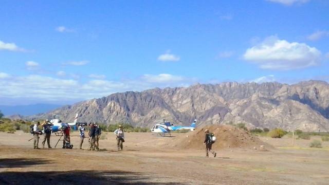 Unfall Hubschrauber-Absturz in Argentinien
