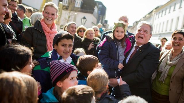 Bundespräsident Gauck in Arnsberg
