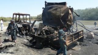 Bombenangrif auf Tanklaster in Kundus