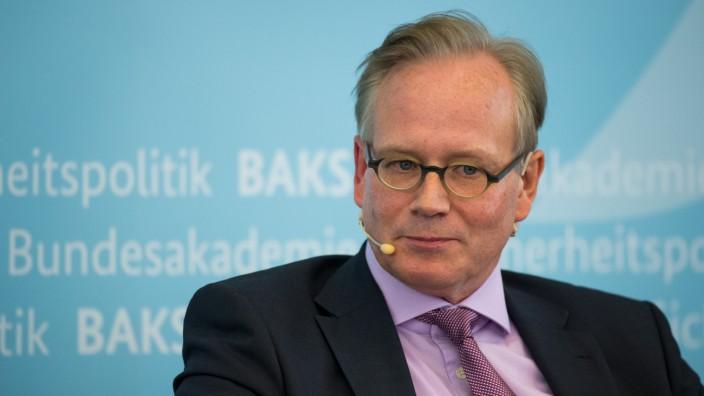 Swiss journalist Eric Gujer