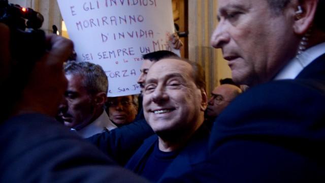Silvio Berlusconi Ruby Prozess Rom Italien
