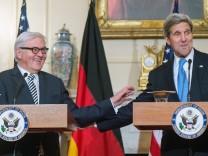 Außenminister Steinmeier in den USA