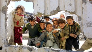 AFGHANISTAN-US ATTACK-ENDURING FREEDOM-DISPLACED PEOPLE-KIDS