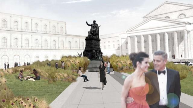 Ausstellung Entwürfe für den Max-Joseph-Platz