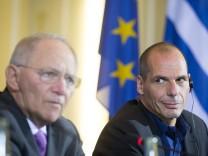 Varoufakis und Schäuble