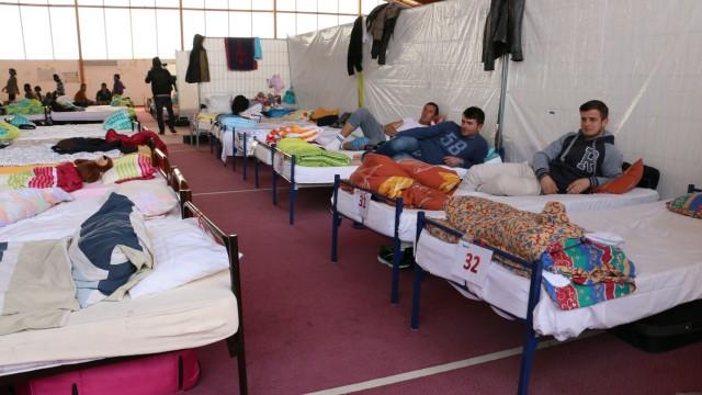 Flüchtlinge in München Flüchtlingsunterkünfte in München