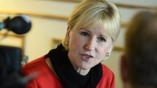 Schwedens Außenministerin Margot Wallström