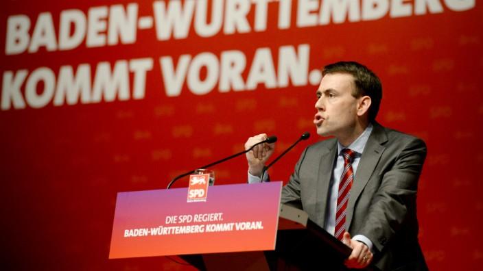 Nils Schmid beim SPD-Landesparteitag in Singen