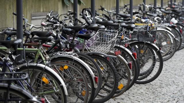 Fahrrad-Stellfläche in Freiburg
