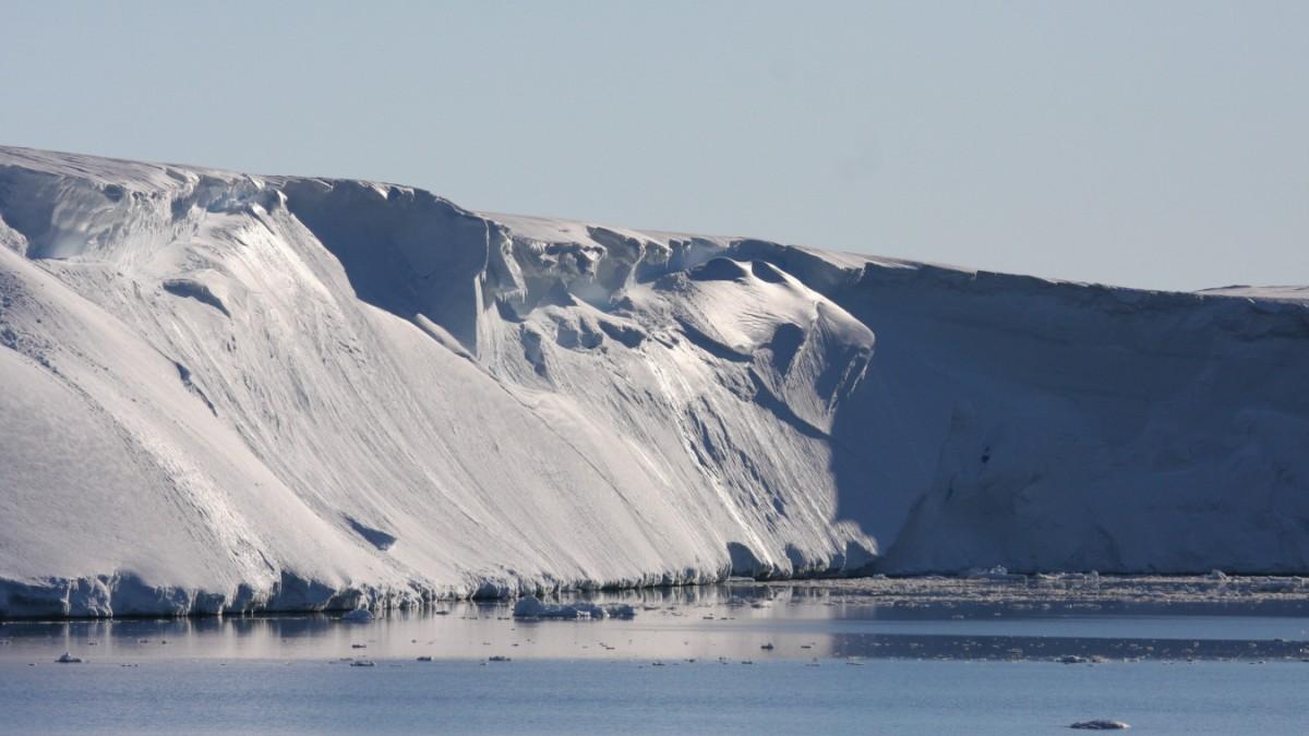Die Antarktis wächst