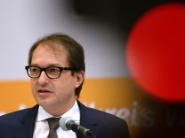 Bundesverkehrsminister Dobrindt in Waldshut-Tiengen