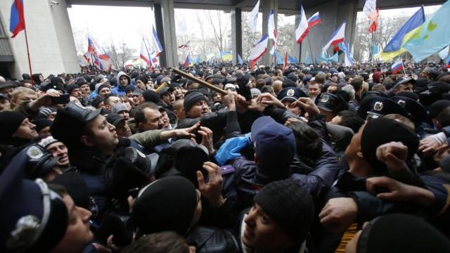Krim-Krise Amnesty-Report zur Lage auf der Krim
