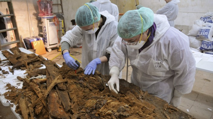 Search of human remains of Cervantes continues