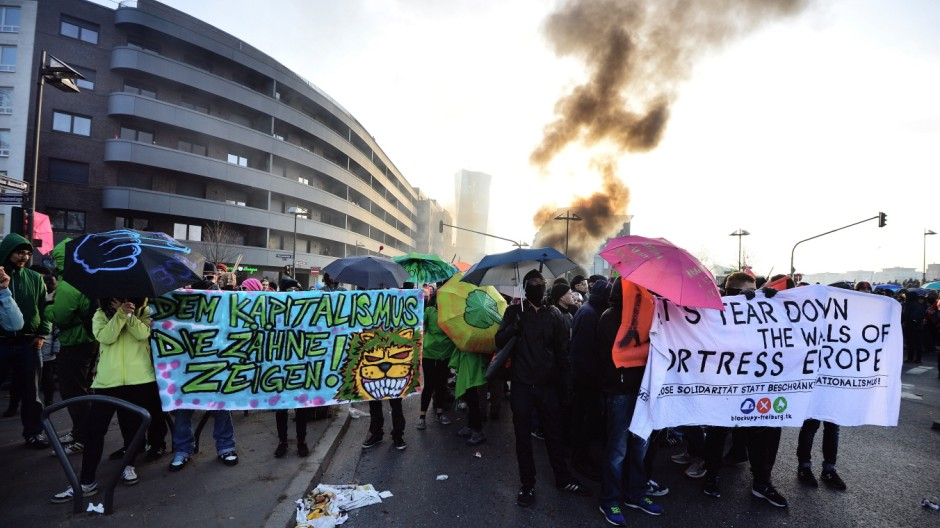 Blockupy Protests Accompany ECB Inauguration
