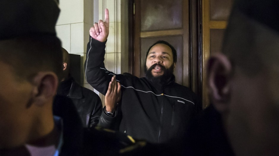 Dieudonne M'Bala M'Bala trial in Paris