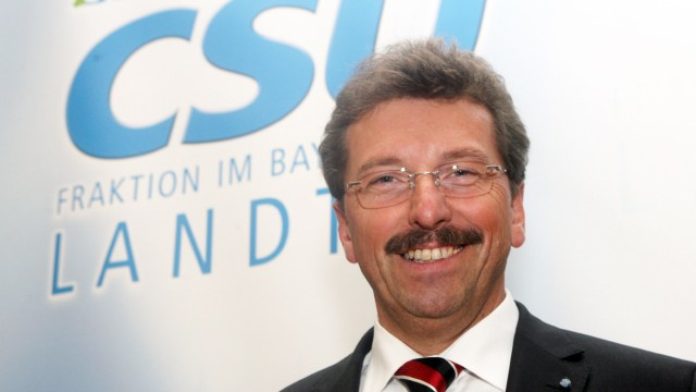 Georg Schmid wird CSU-Fraktionsvorsitzender