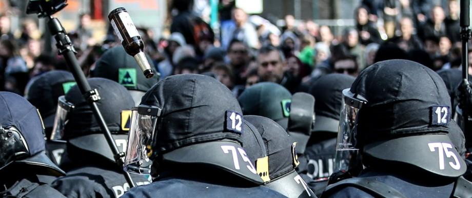 Blockupy Protests Accompany ECB Inauguration