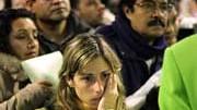Flugpassagier warten, AFP