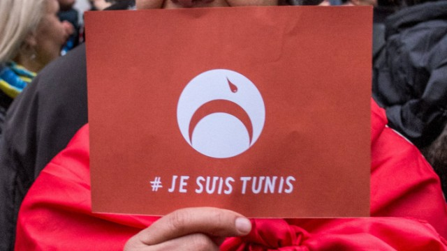 March 19 2015 Paris France A gathering took place on March 19 2015 in Paris in front of the t