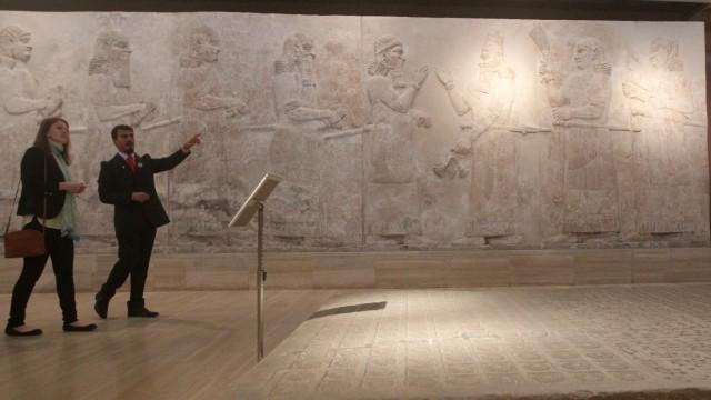 Terrorismus Friedenstruppen für Kulturschätze
