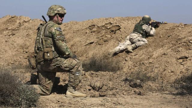 US-Soldaten im Kampf gegen den Islamischen Staat