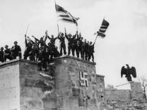 Soldaten der US-Armee in Nürnberg, 1945