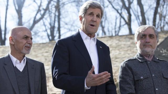 US Afghanistan Dialogue at Camp David