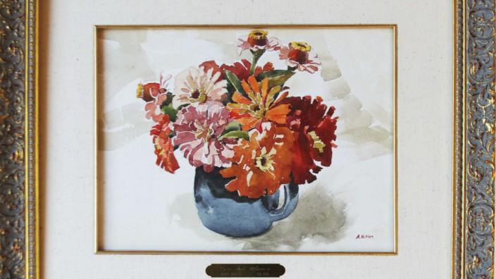Hitler watercolor to go under hammer in US