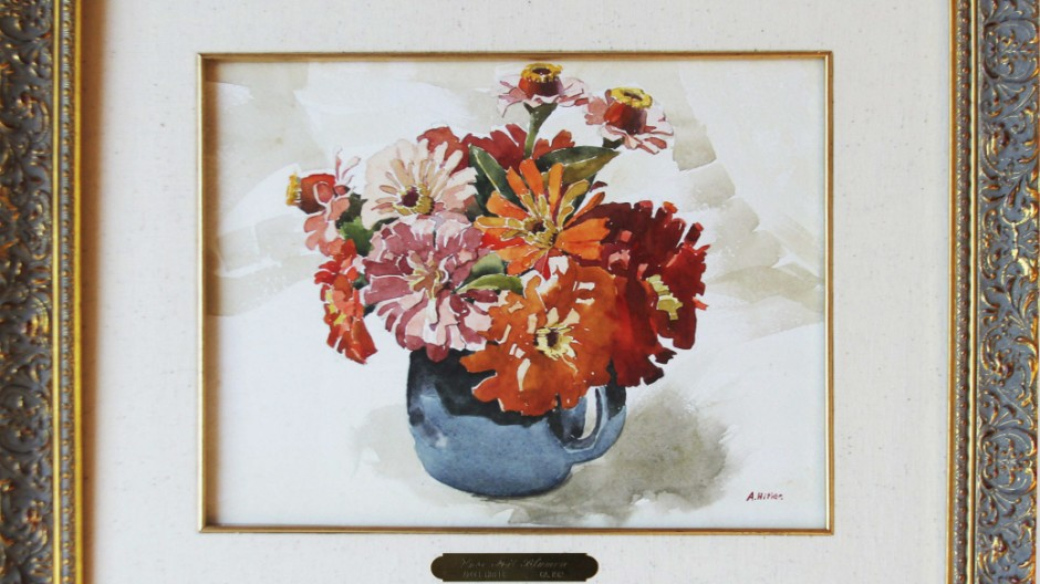 Hitler watercolor to go under hammer in US