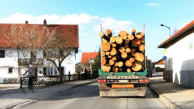 Schwerlastverkehr in Gilching; Schwerlastverkehr in Gilching